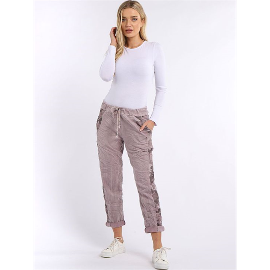 BEAU CAMO SIDE STRIPE PANT